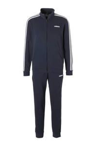 adidas Performance   trainingspak donkerblauw, Donkerblauw/wit