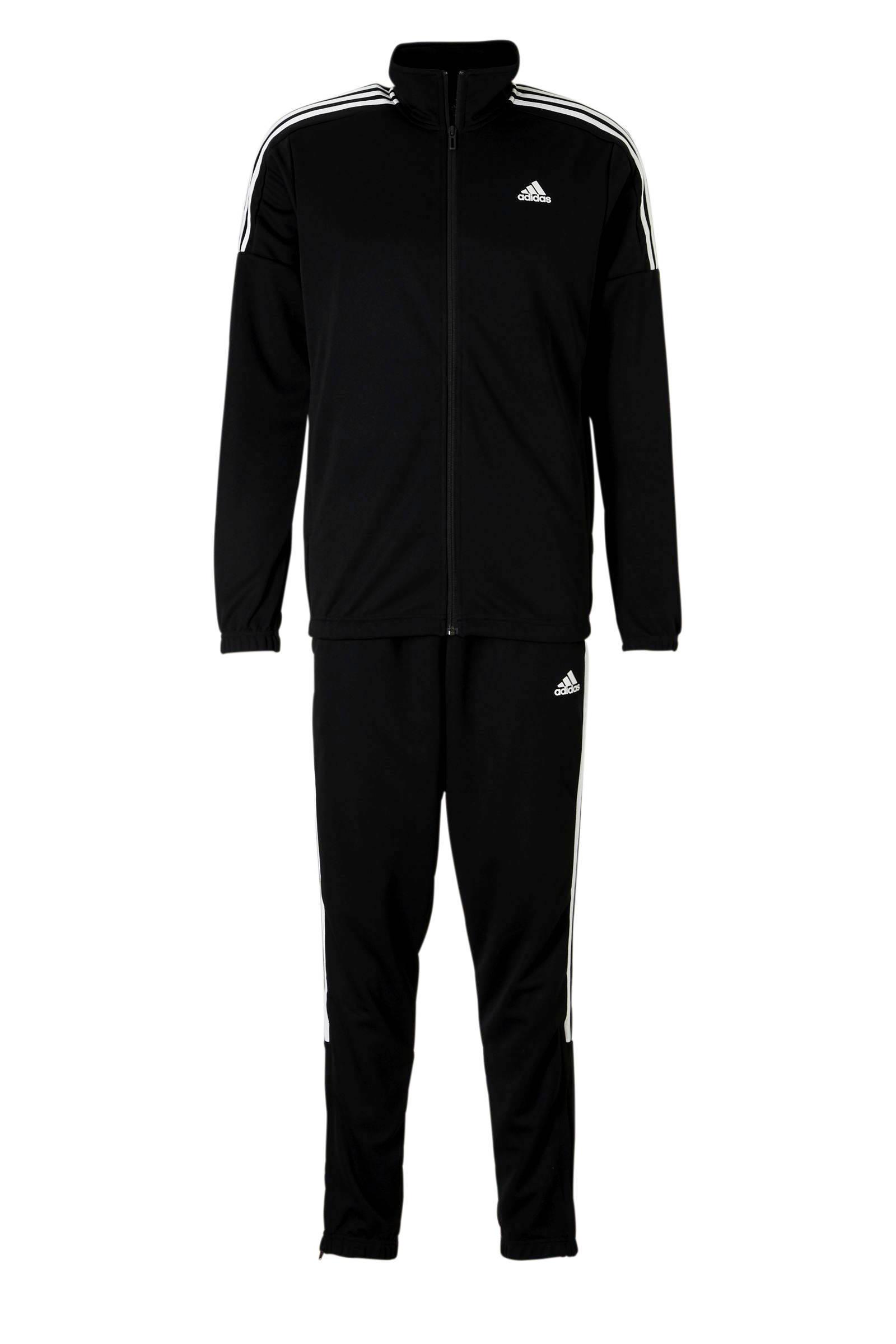 adidas Performance trainingspak zwart | wehkamp