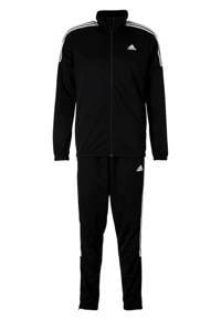 adidas Performance   trainingspak zwart, Zwart