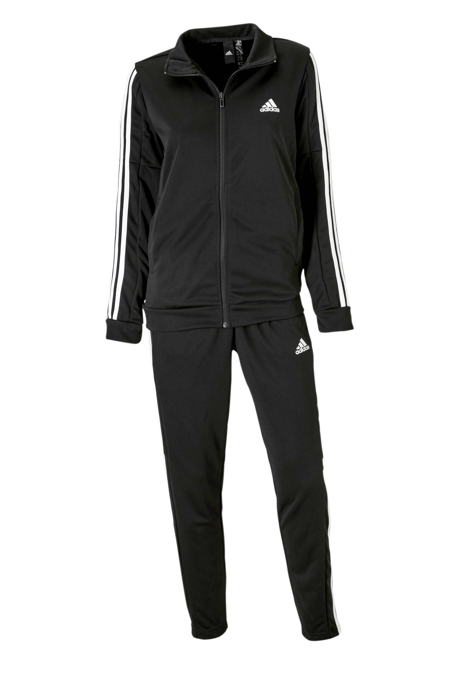 adidas Performance trainingspak zwartwit | wehkamp
