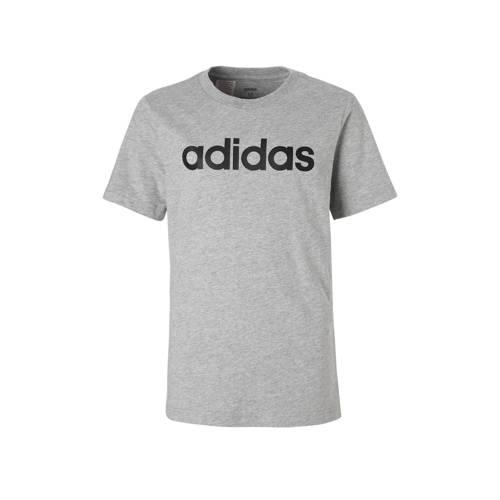 adidas performance performance sport T-shirt grijs