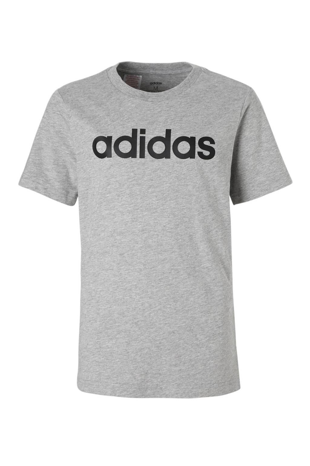 adidas performance   performance sport T-shirt grijs, Grijs
