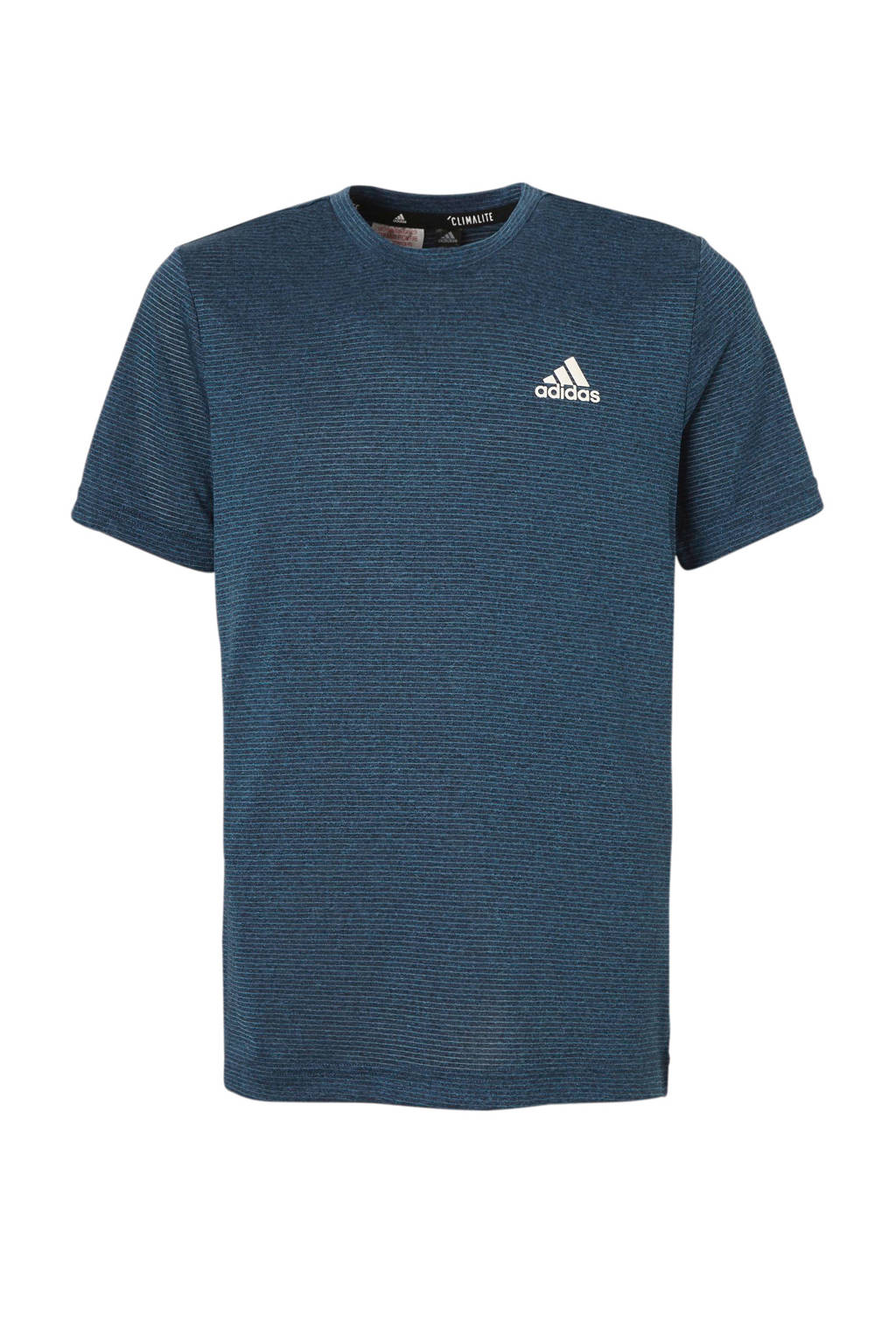 adidas performance   performance sport T-shirt blauw, Blauw