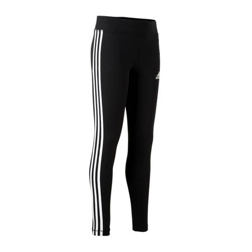 adidas Performance functionele tights YOUNG GIRL TRAINING EQUIPMENT 3 STRIPES LONG TIGHT