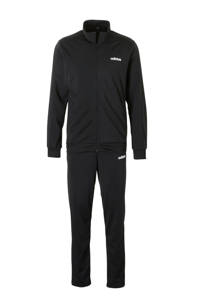 adidas Performance   trainingspak zwart, Zwart/wit