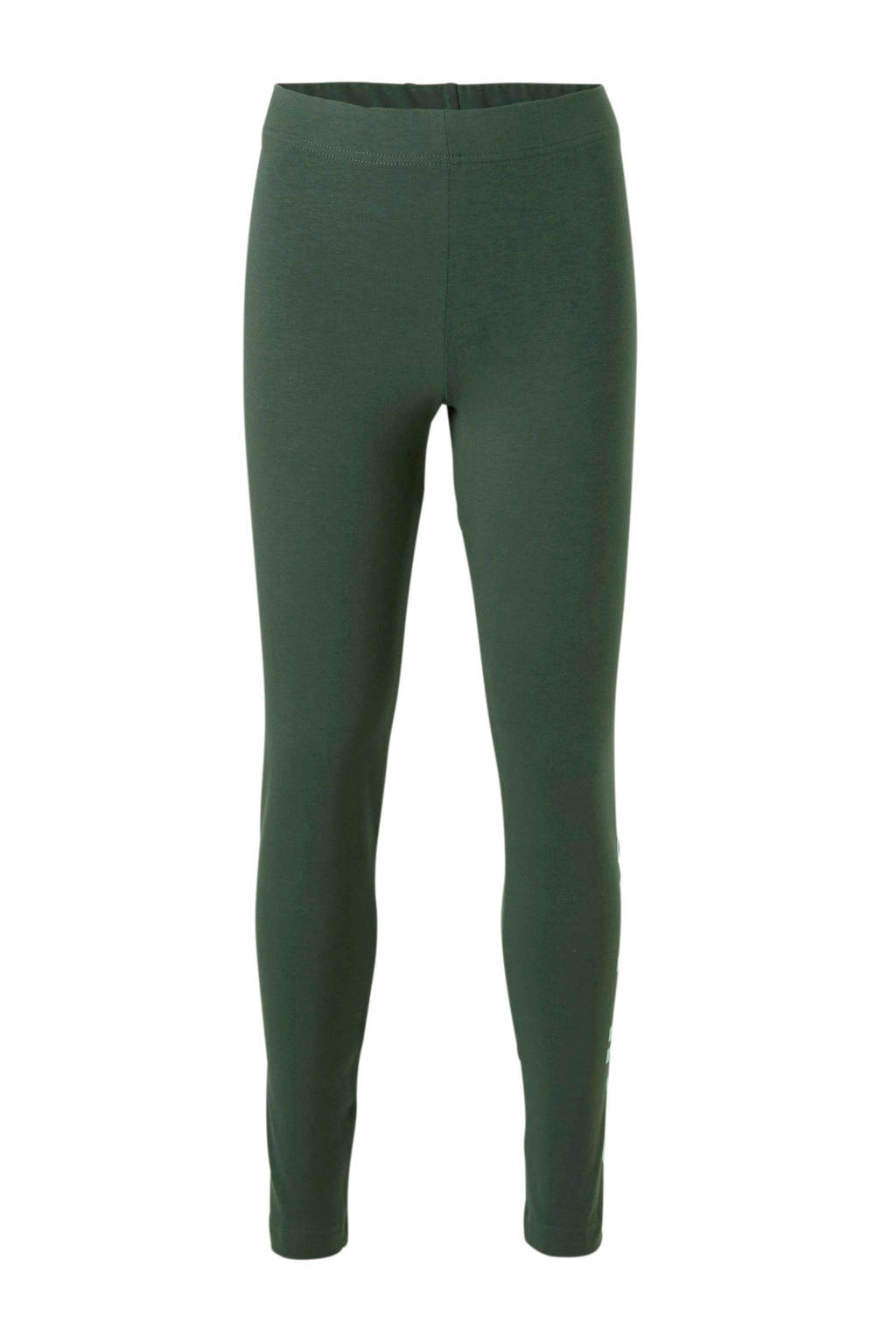 adidas performance sportbroek groen, Donkergroen/mintgroen