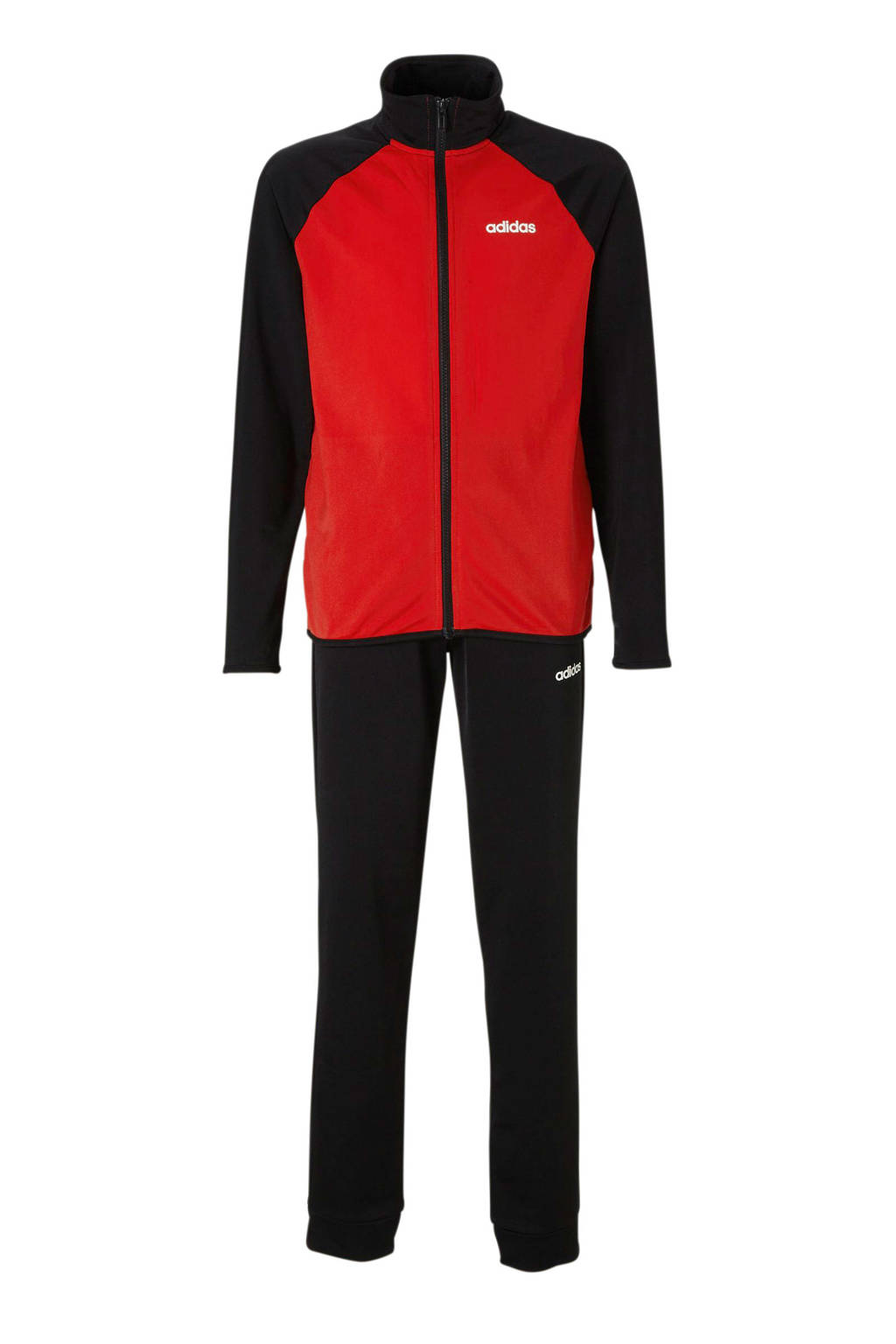 adidas Performance   trainingspak rood, Rood/zwar