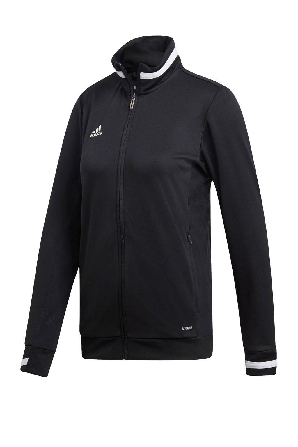 adidas performance performance sportvest zwart, Zwart