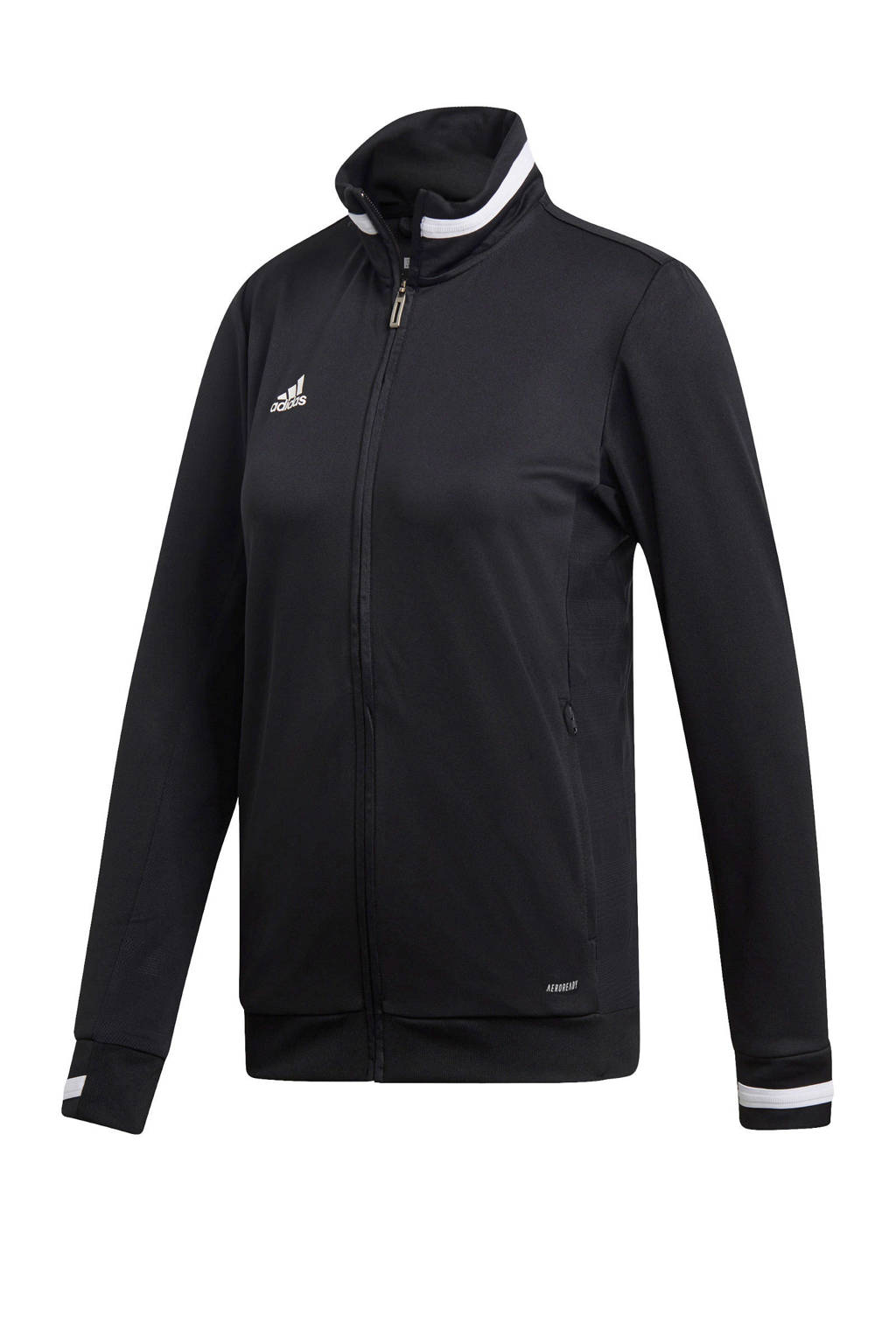 adidas Performance sportvest T19 zwart, Zwart