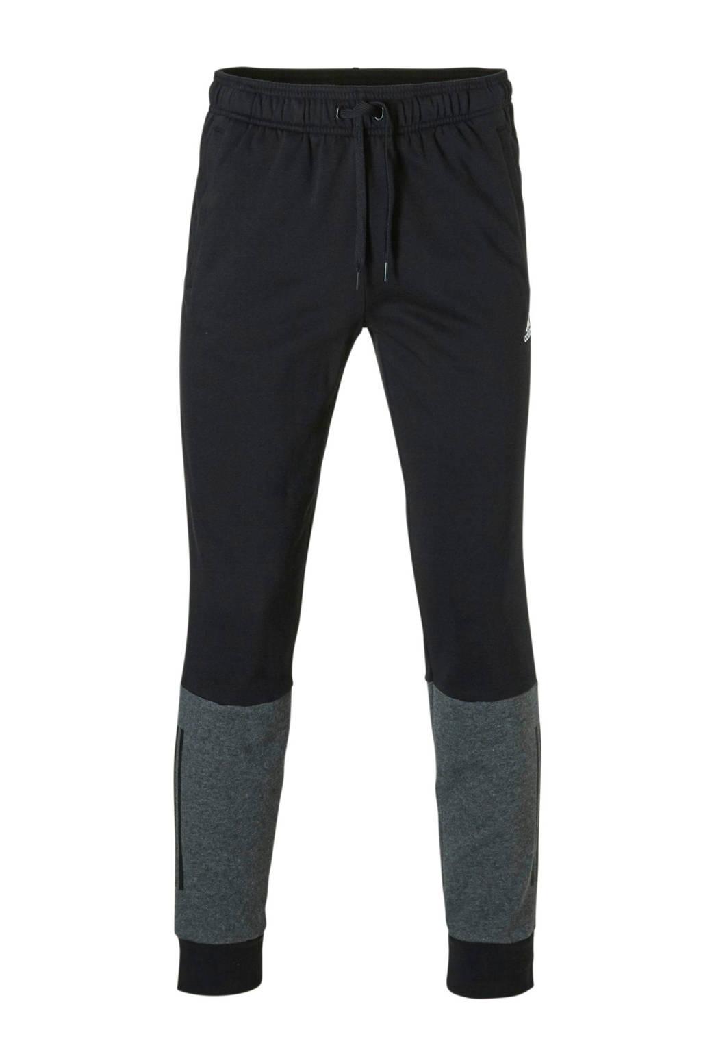 adidas performance joggingbroek zwart, Zwart/grijs