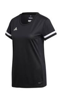adidas Performance sport T-shirt T19 zwart, Zwart