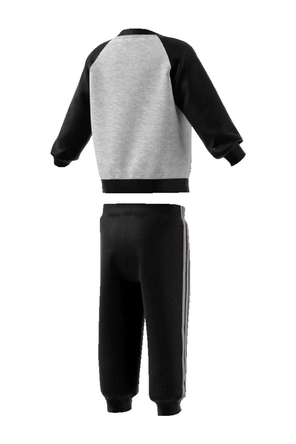 adidas performance   joggingpak zwart/grijs, Zwart/grijs