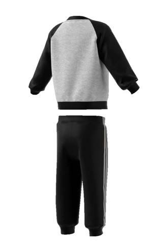 performance   joggingpak zwart/grijs