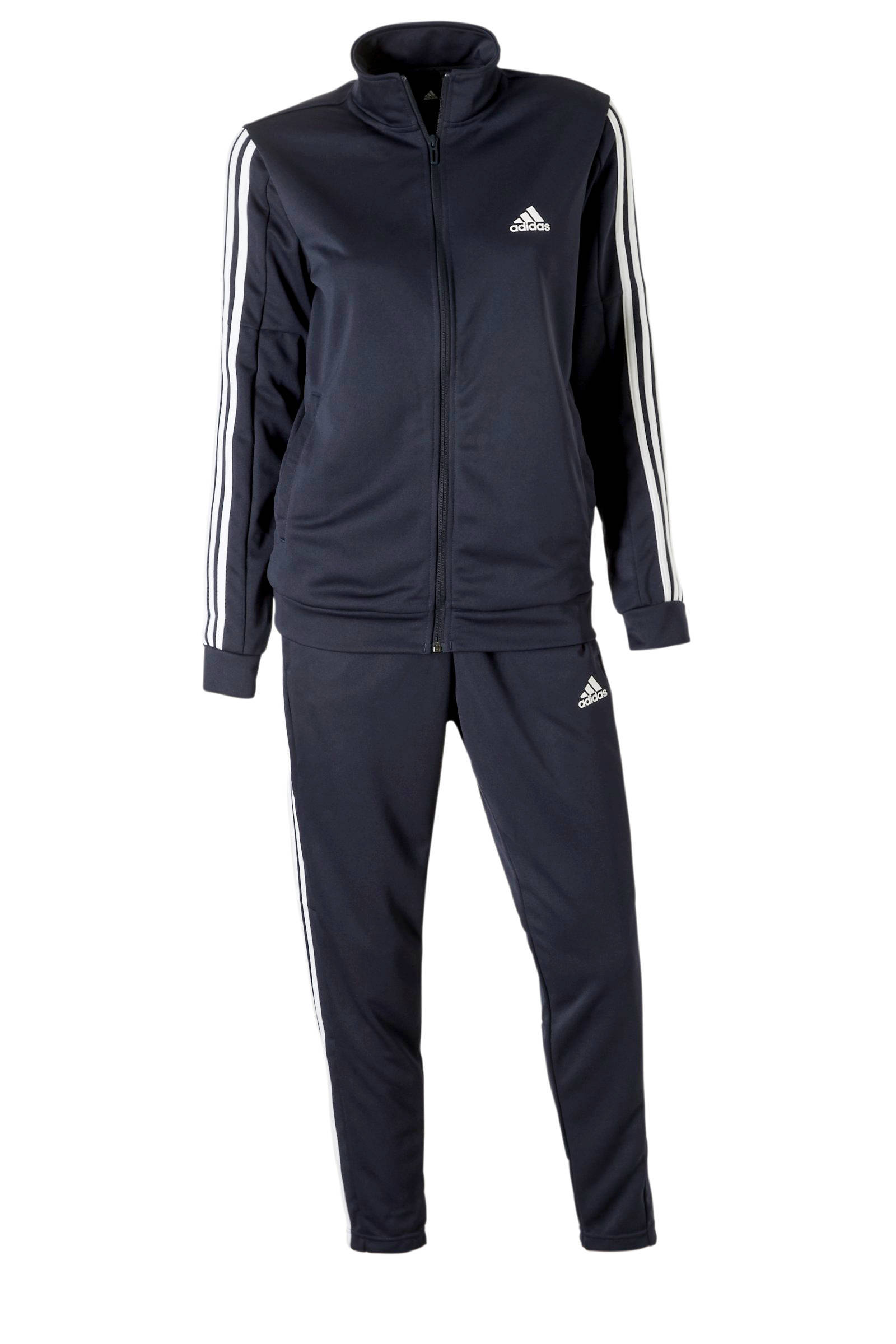 adidas Performance trainingspak rozeblauw | wehkamp