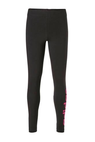 performance sportbroek zwart/roze
