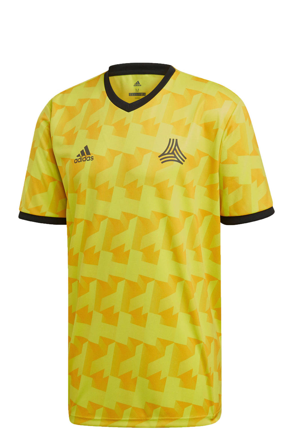 adidas performance   sport T-shirt geel, Geel