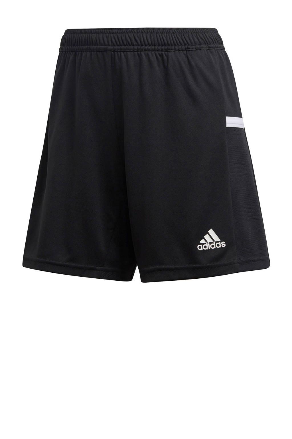 adidas Performance sportshort T19 zwart, Zwart