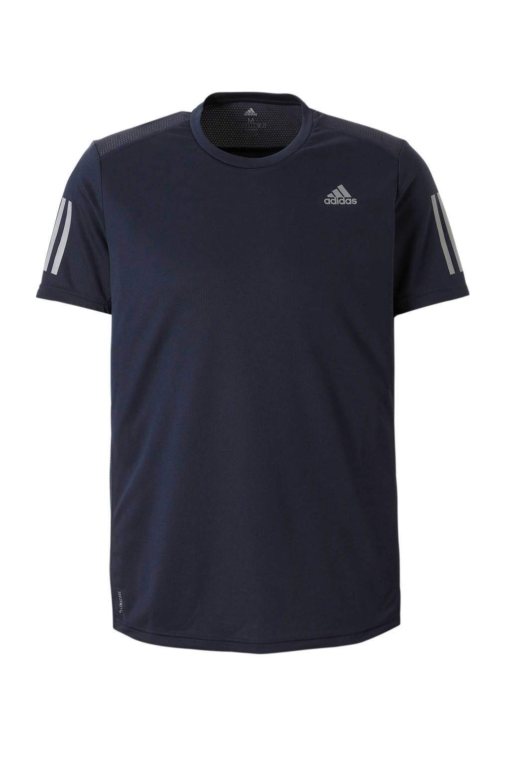 adidas performance   hardloop T-shirt donkerblauw, Donkerblauw