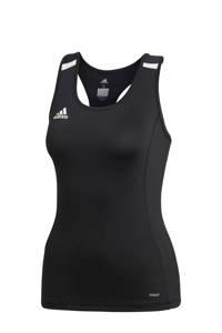 adidas Performance sporttop T19 zwart, Zwart