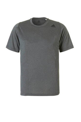 performance   sport T-shirt antraciet