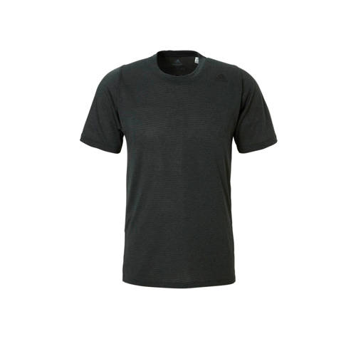 adidas performance sport t-shirt grijs