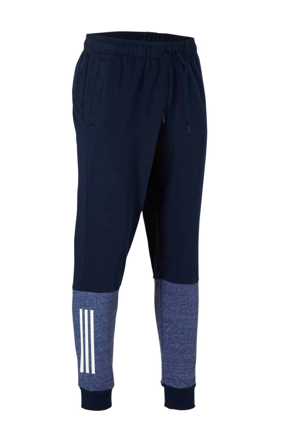 adidas performance joggingbroek donkerblauw, Blauw
