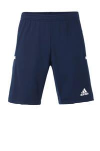 adidas Performance   sportshort T19 donkerblauw, Donkerblauw