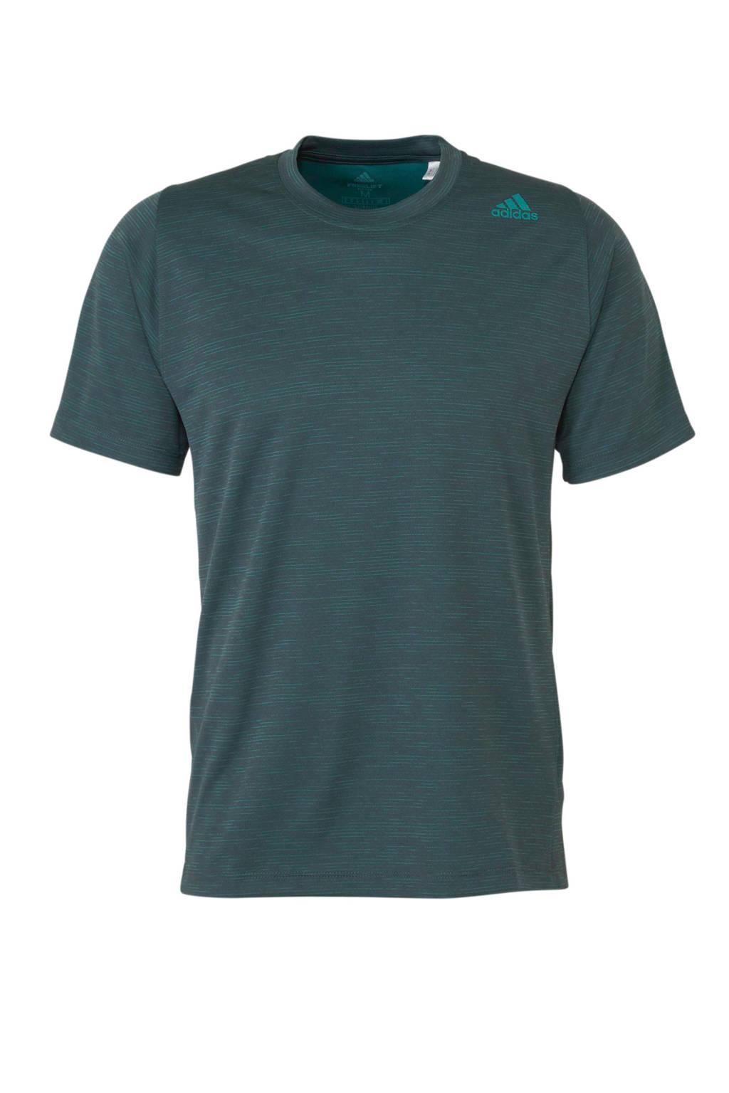adidas performance   sport T-shirt groen, Groen