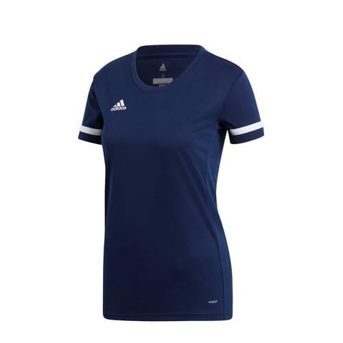 adidas performance sport T-shirt donkerblauw kopen