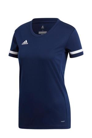 sport T-shirt T19 donkerblauw