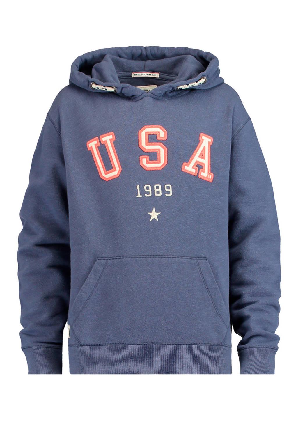 America Today Junior katoenen trui sharon blauw, Blauw
