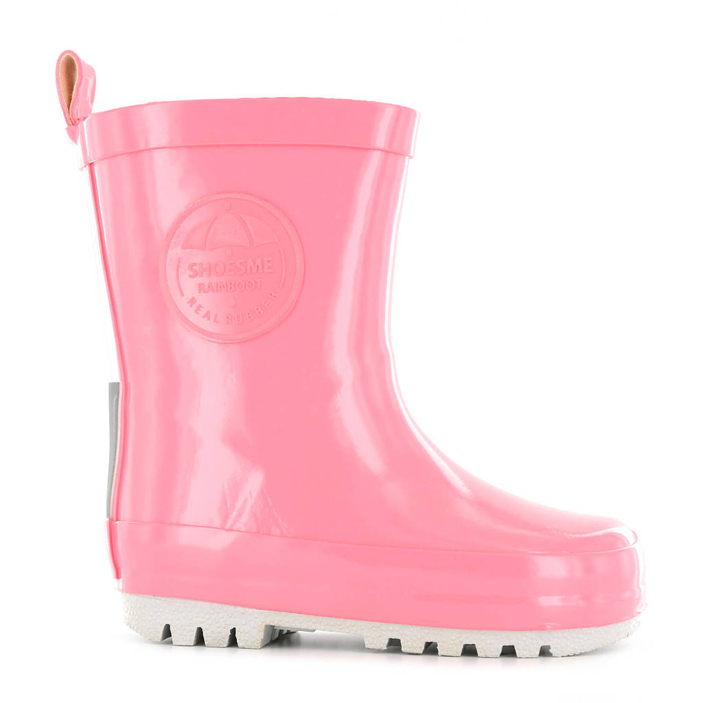 Shoesme   regenlaarzen roze, Lichtroze