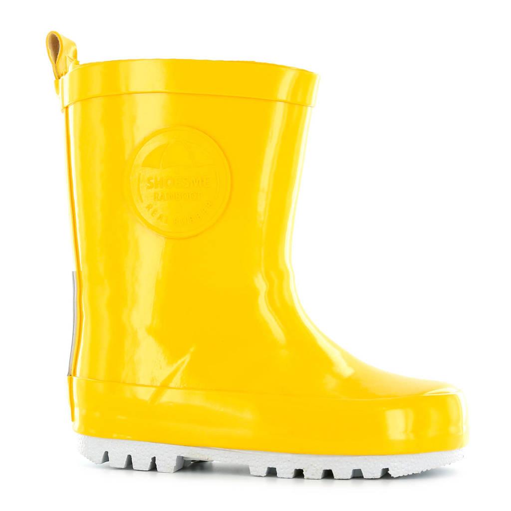 Shoesme kids regenlaarzen geel, Geel