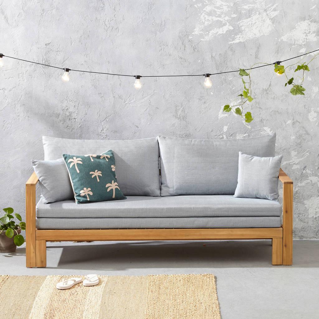whkmp's own loungebank met ligbed La Serena, Grijsblauw/naturel