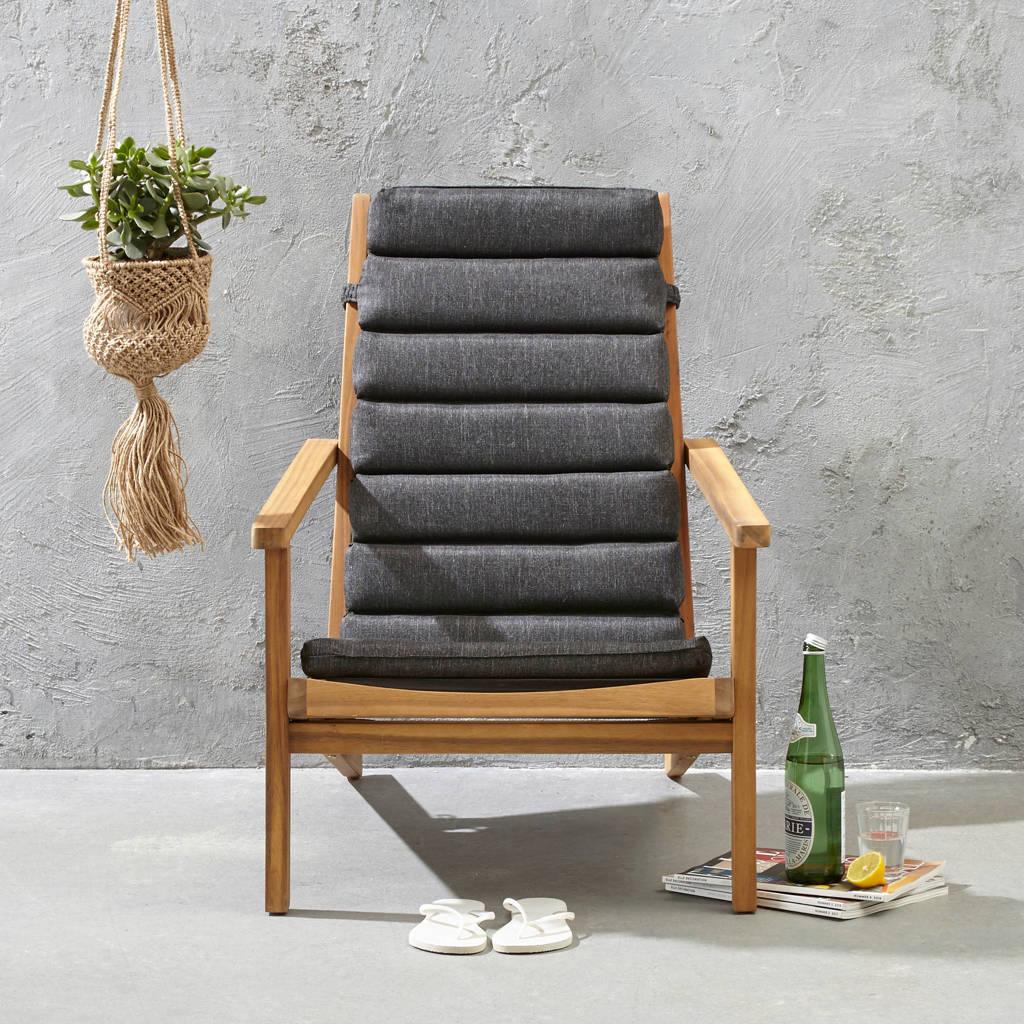 whkmp's own loungestoel Wilmer, Naturel/zwart