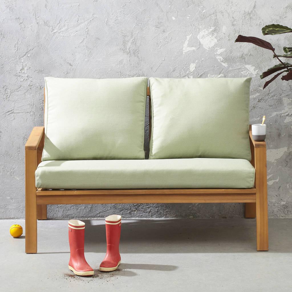 whkmp's own Loungebank Cambrils, Lichtgroen/naturel