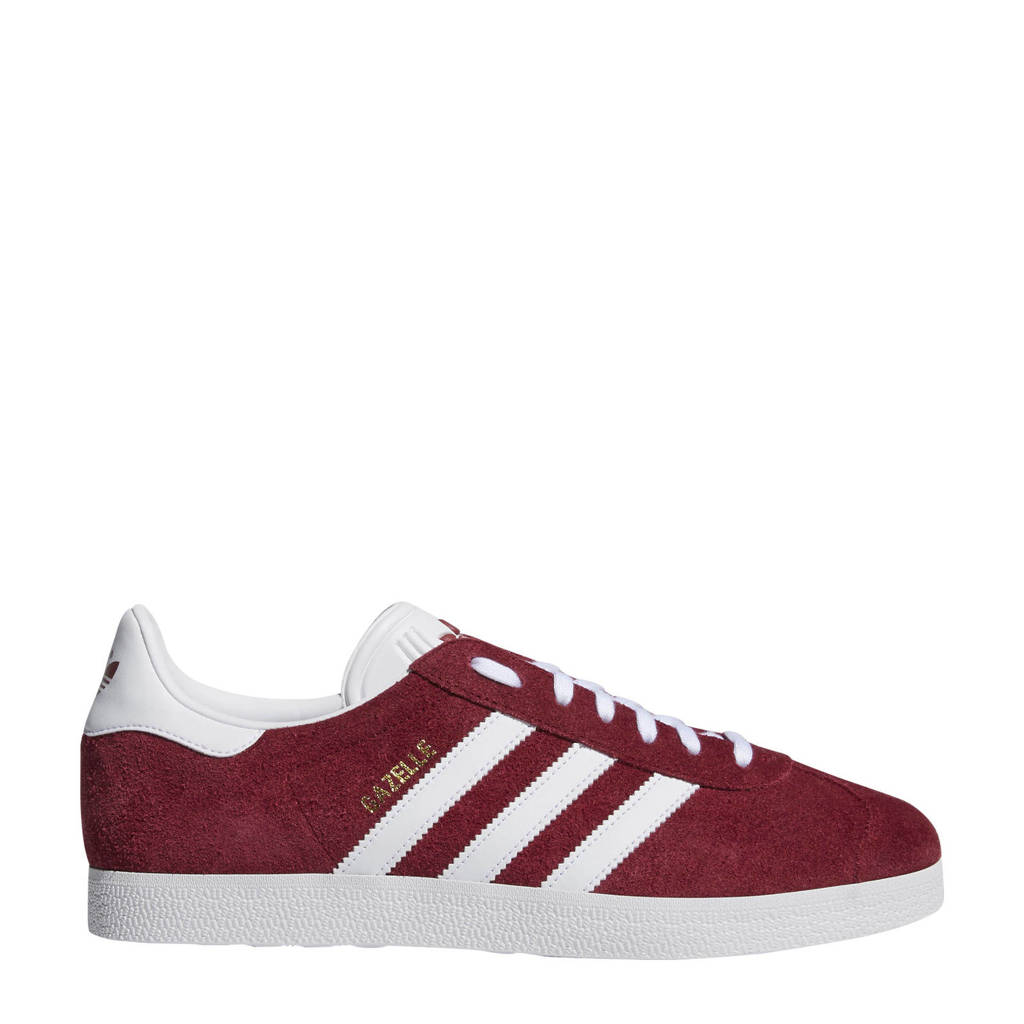 adidas originals  Gazelle sneakers rood, Rood/wit