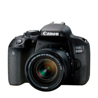 EOS800D+EF-S 18- Canon spiegelreflexcamera EOS800D+EF-S 18-55 IS STM CP