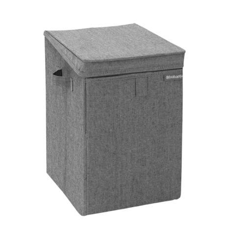 Brabantia stapelbare wasbox 35 liter - donkergrijs kopen
