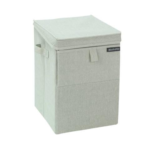 Brabantia stapelbare wasbox 35 liter - grijsgroen kopen