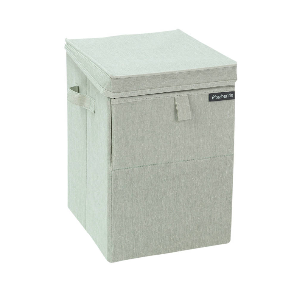 Brabantia stapelbare wasbox 35 liter - grijsgroen, Grijsgroen