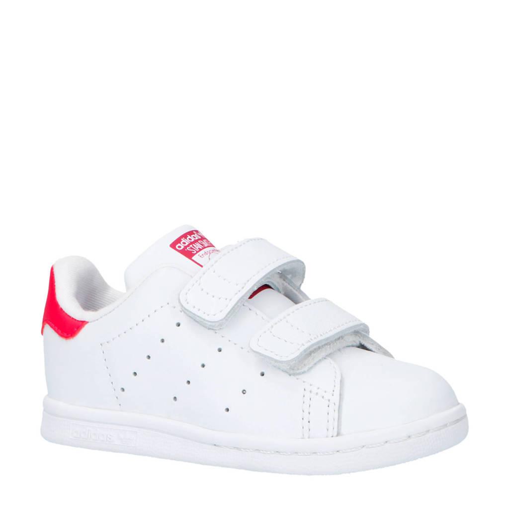 adidas Originals Stan Smith CF I leren sneakers wit/roze, Wit/roze