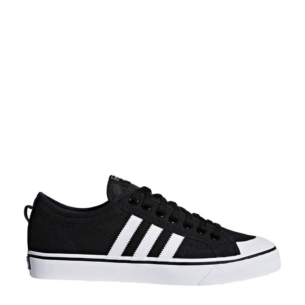 adidas originals  Nizza sneakers, Zwart/wit