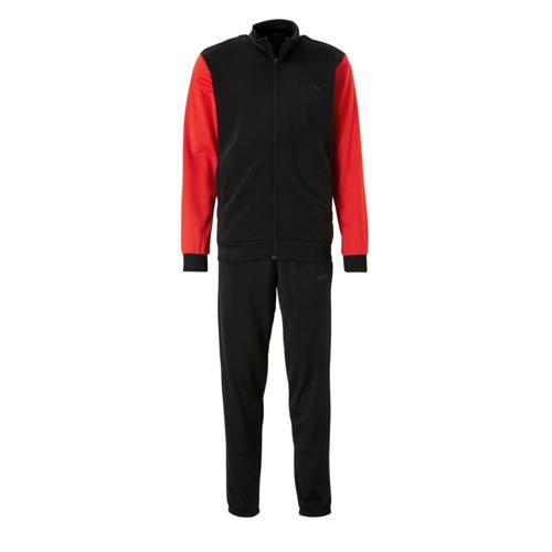 adidas performance trainingspak zwart-rood
