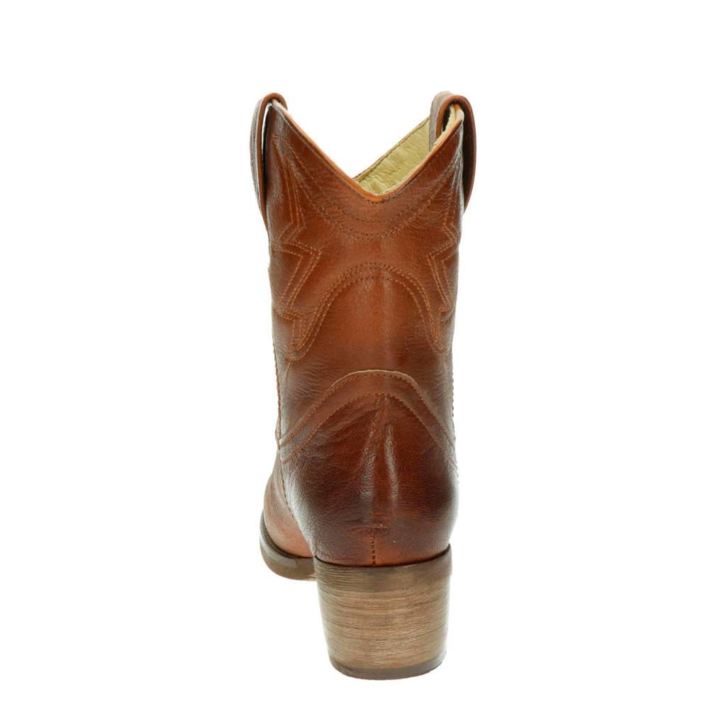 Laarzen Moretto Cowboy Cognac Antonio Leren 6zqZB6t