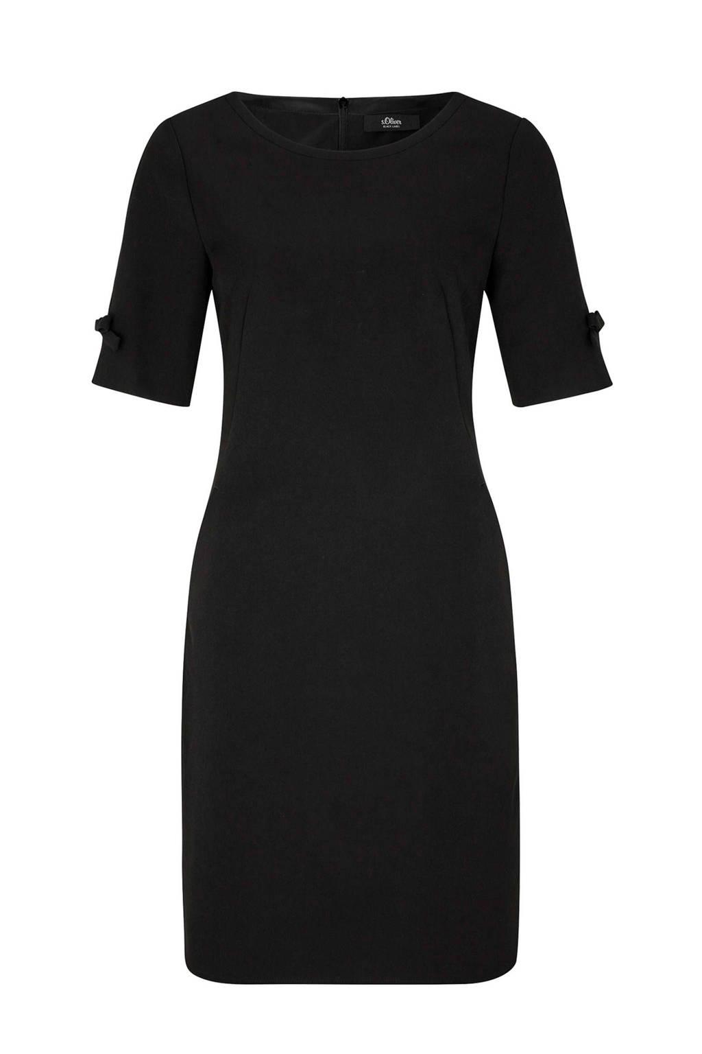 s.Oliver BLACK LABEL jurk zwart, Zwart