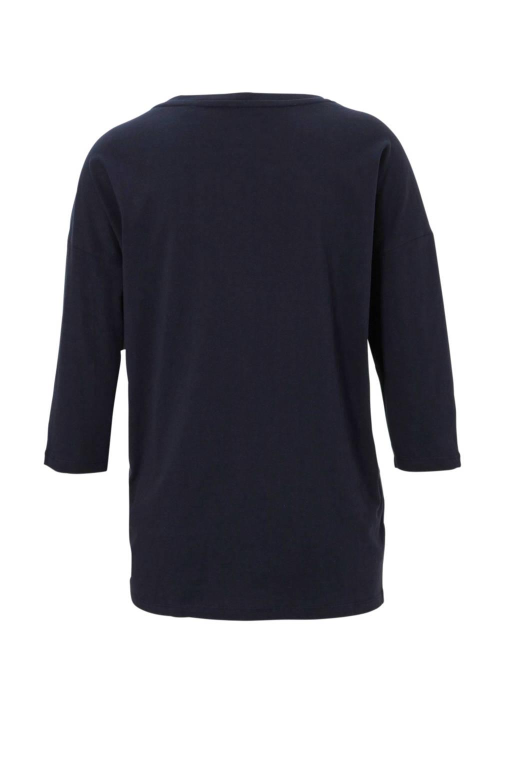 Met Marineblauw Sierstenen shirt olivert S RqUAww