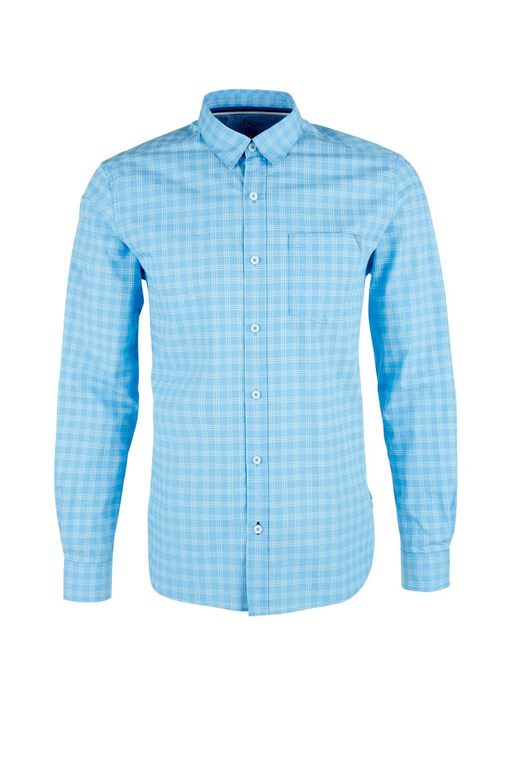 s.Oliver overhemd, Lichtblauw