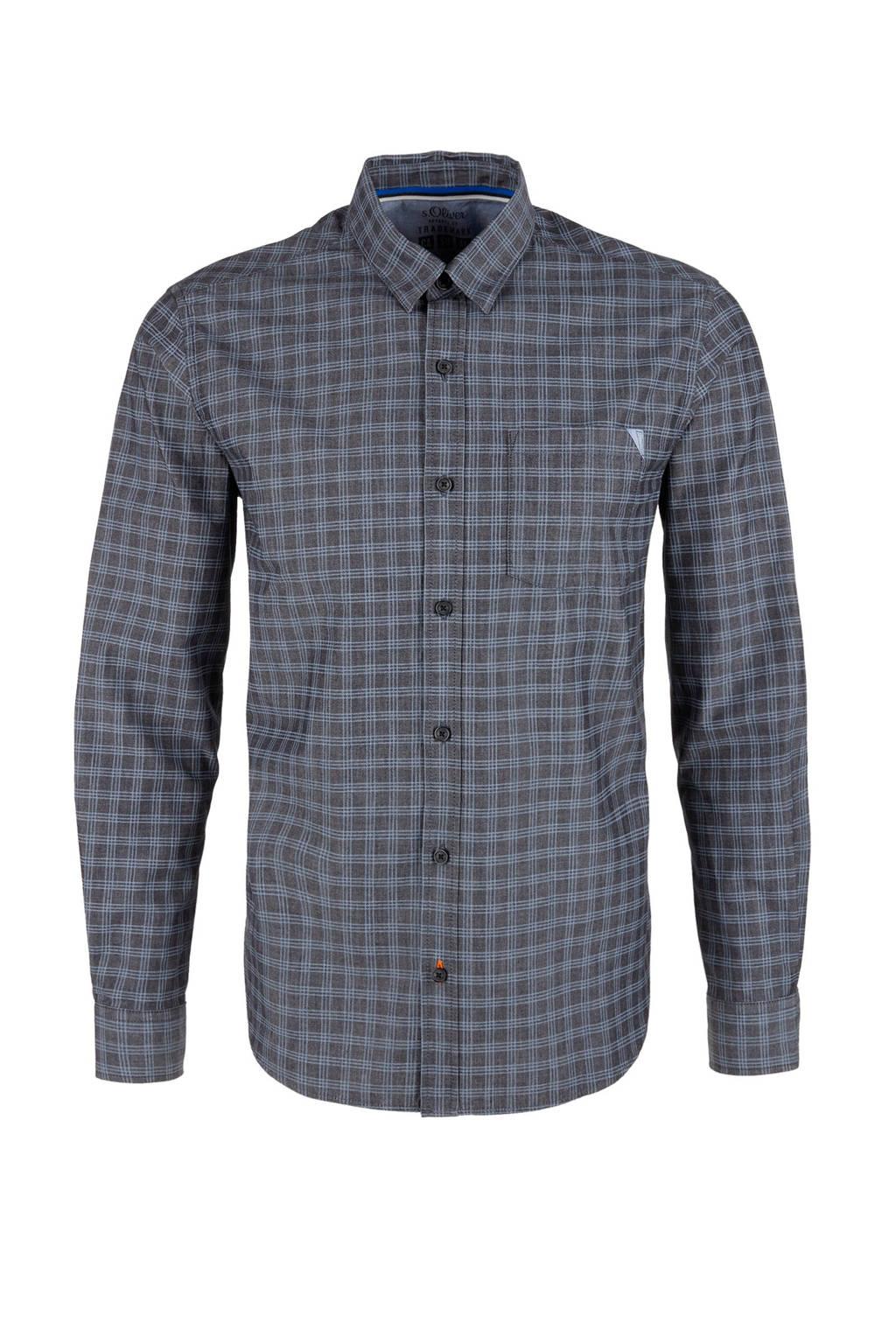 s.Oliver overhemd, Grijs