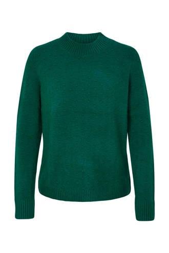 gebreide sweater groen
